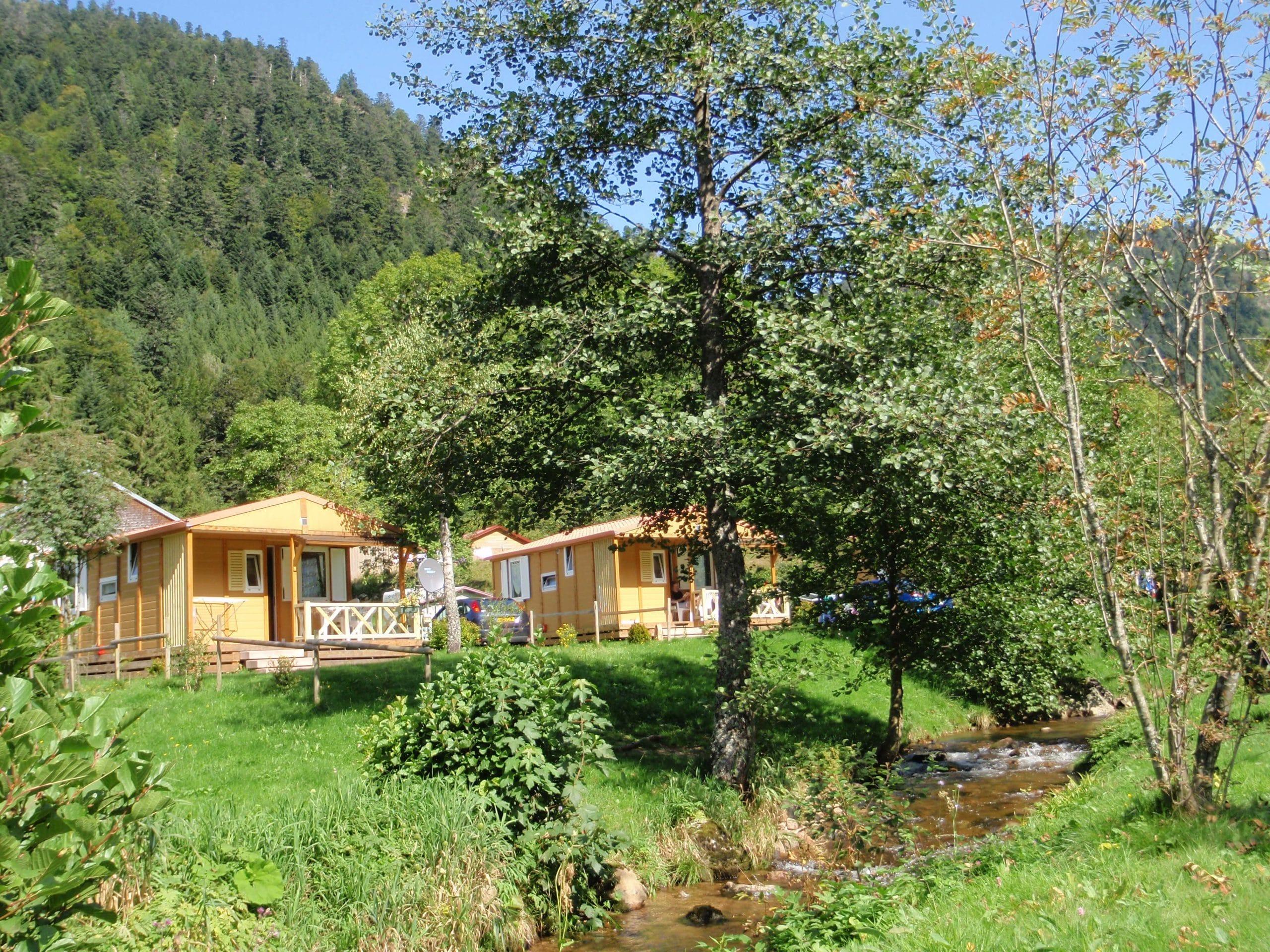 Chalet-Club Camping La Vologne